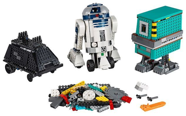 Lego Boost Star Wars Droide Robot programable R2D2